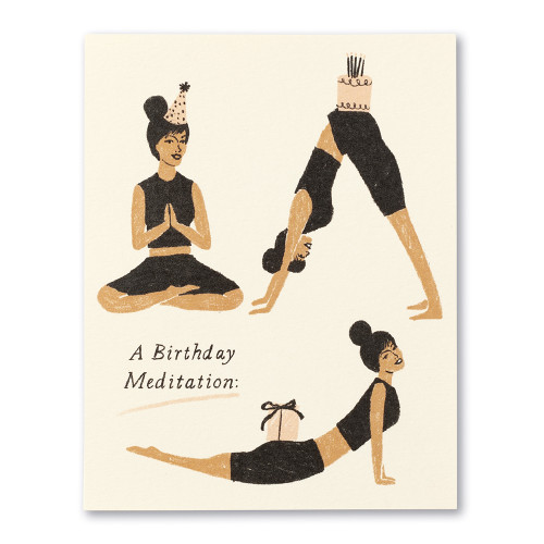 A birthday meditation: