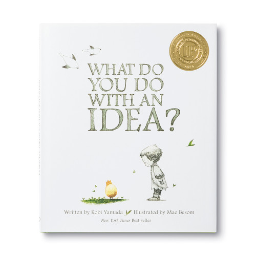 Front cover of What DO You Do With an Idea? children's book.