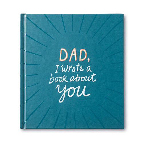 Front of Dad, I Wrote A Book About You, an activity gift book.