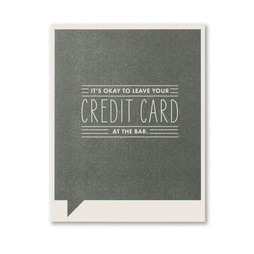 Front of card.