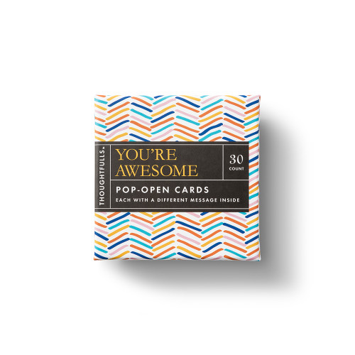 Front of You're Awesome Thoughtfulls Box.