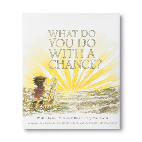 Front cover of What Do You Do With A Chance? children's book.