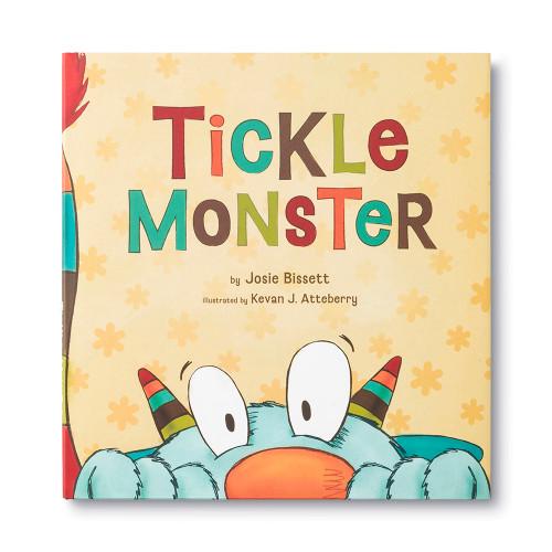 Front of Tickle Monster children's book.