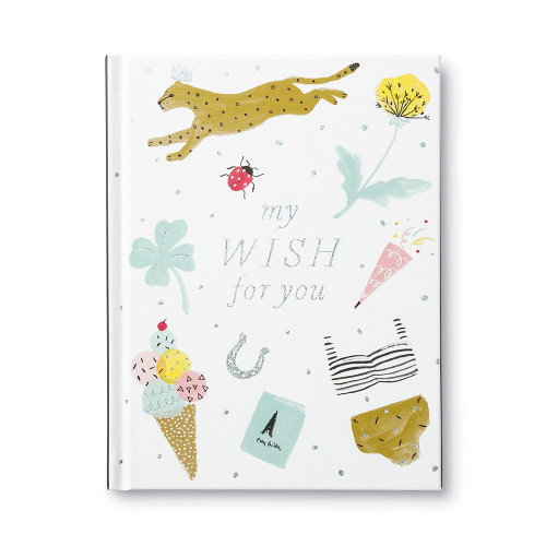 Front of My Wish For You, a friendship gift book.