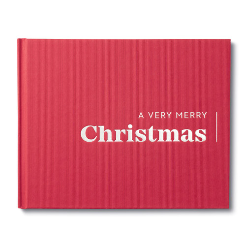 Front of A Very Merry Christmas, a holiday book.