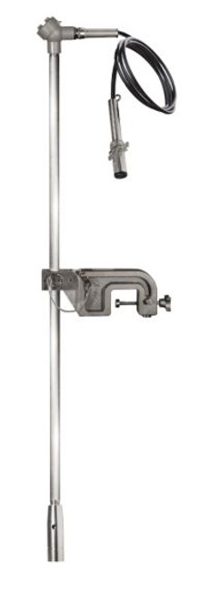 "Portable Cane Sensor, SP-PYU(SS)/4P, 36"", 4 Pin Plug, 20' Straight Cable"