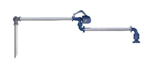 Top Loading Unsupported boom arm