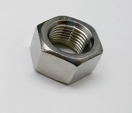 NUT-5/8-18 HEX UNF-2B 17/32 THICK SS