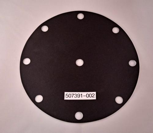 "TechnipFMC (Smith) 200 series valve Diaphragm, 3"", Viton, 8-Hole"