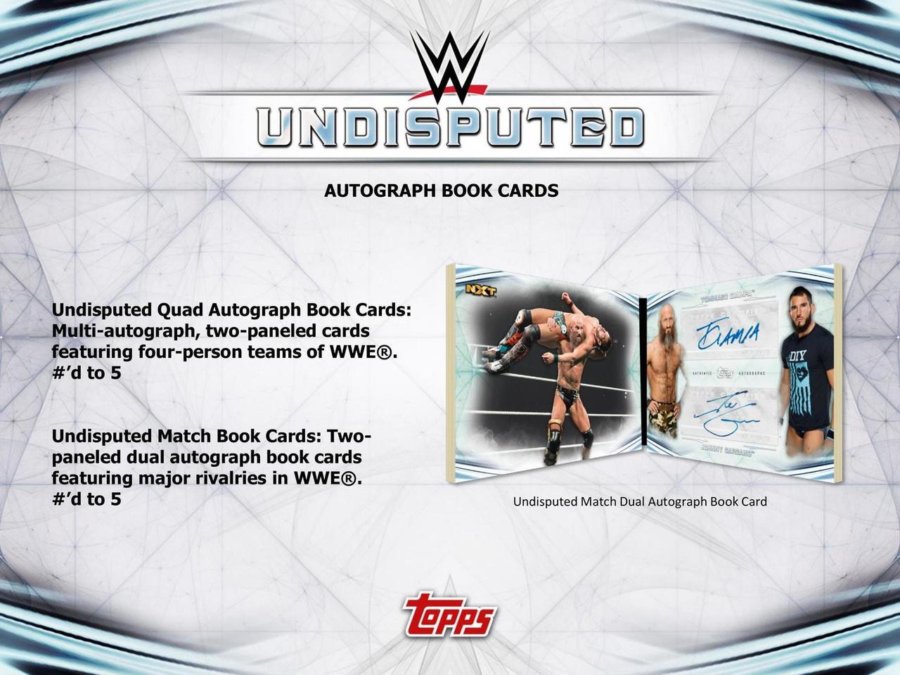 WWE - 2020 Topps WWE Undisputed Wrestling Hobby Box