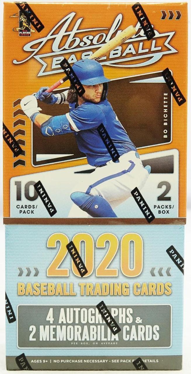 2020 Panini Absolute Baseball Hobby Box