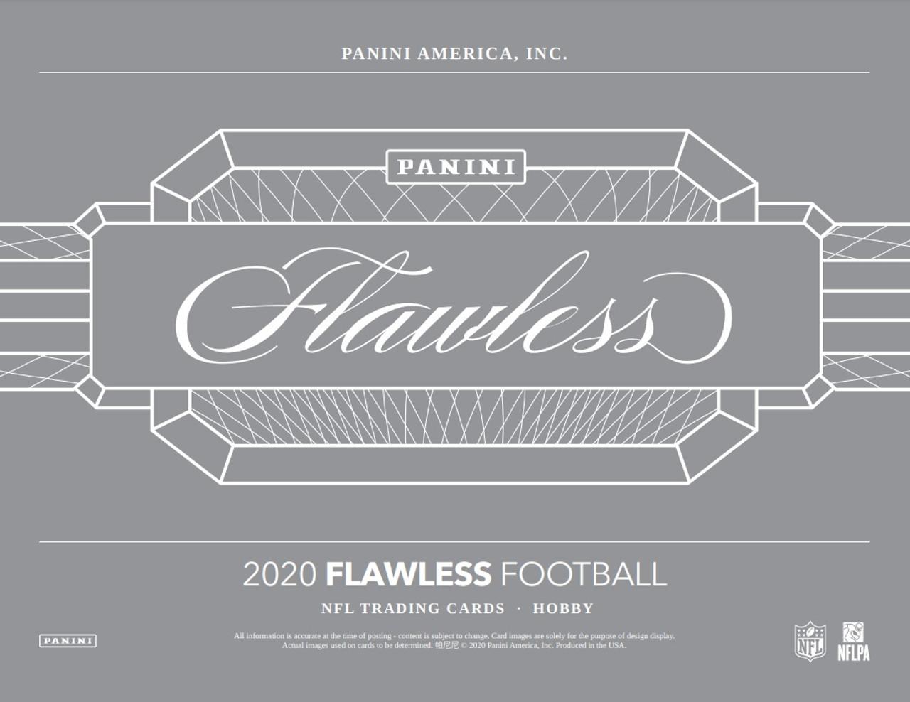 2020 Panini Flawless Football Hobby Box