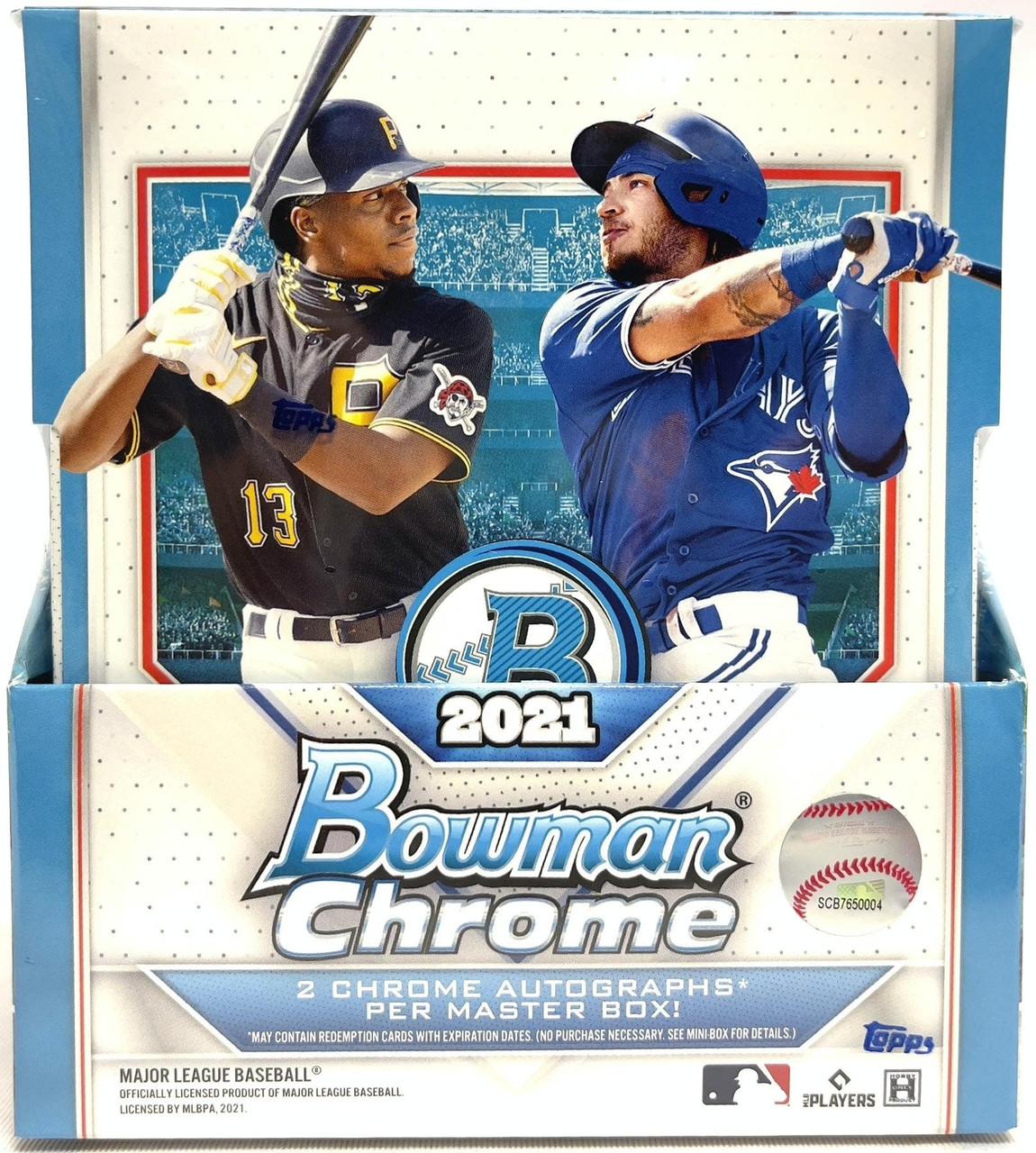 2021 Bowman Chrome Baseball Hobby Box