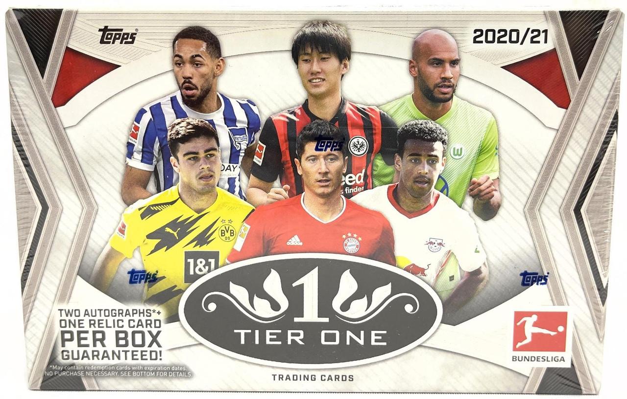 2020/21 Topps Tier One Bundesliga Soccer Hobby Box