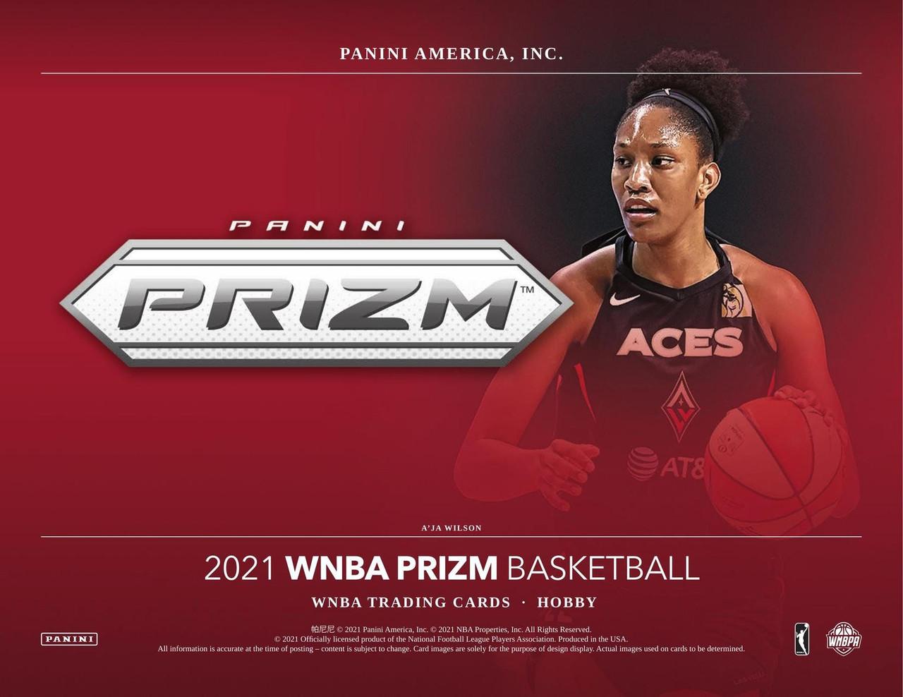 2021 Panini Prizm WNBA Basketball Hobby Box