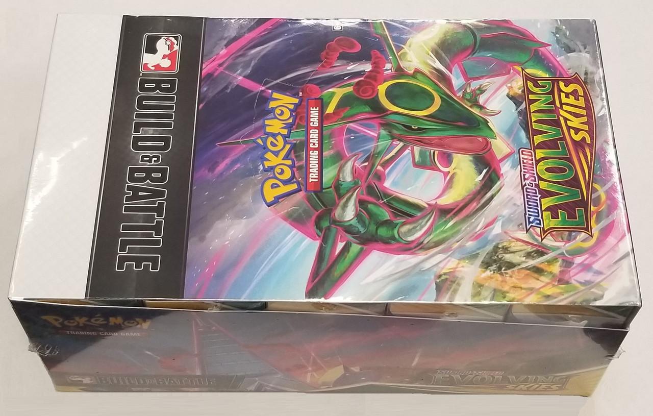 Pokemon Sword & Shield: Evolving Skies Build & Battle Box / Case of 10