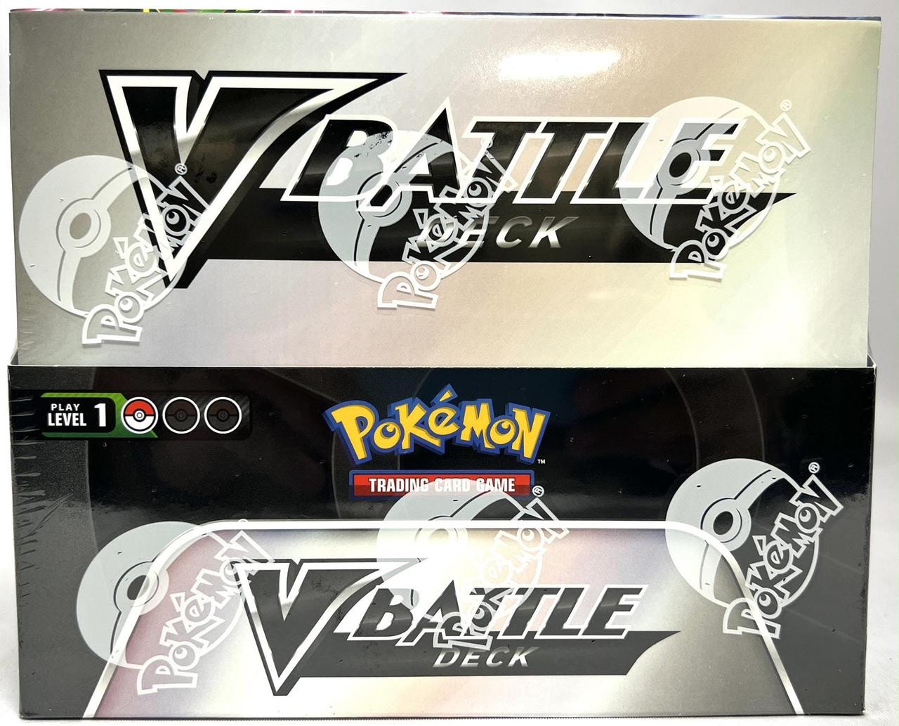 Pokemon Rayquaza V and Noivern V Battle Deck Box