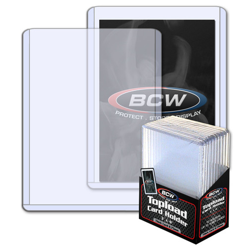 BCW 3x4 x 2.75mm Topload Card Holder - 108 pt