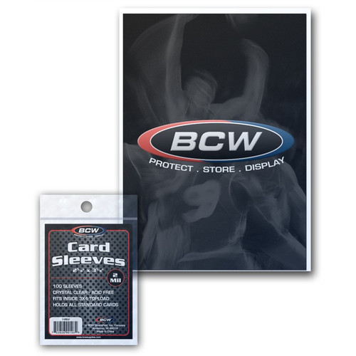BCW Standard Card Sleeves