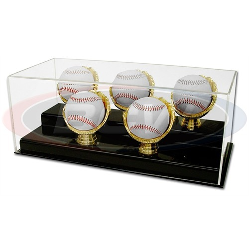 BCW Adhésif arrière miroir pour BallQube Baseball Holder Display Cases 1