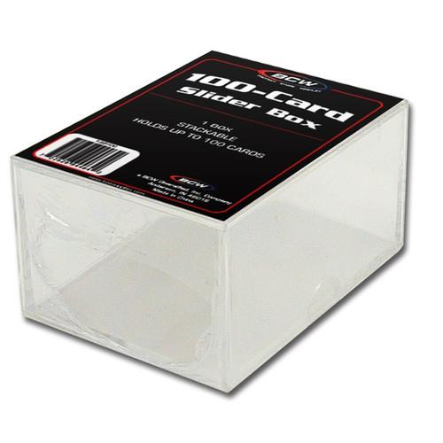 BCW 2-Piece Slider Box  100-card
