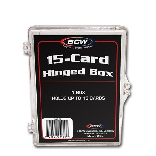 50 BCW 2-Piece 150 count Baseball Trading Card Plastic Slider Boxes box SB150