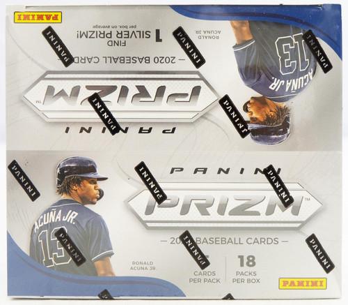 2020 Panini Prizm Quick Pitch Baseball Box