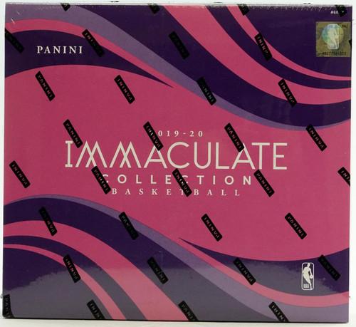 2019/20 Panini Immaculate Basketball Hobby Box