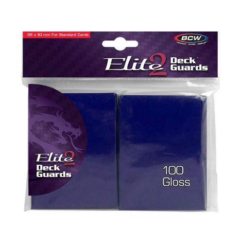 BCW Gaming Elite2 Deck Guard - Glossy - Blue