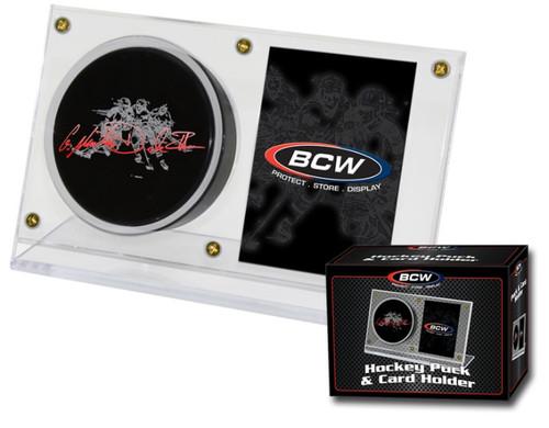 BCW Puck & Card Holder