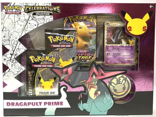 Pokemon Celebrations Collection Dragapult Prime Box