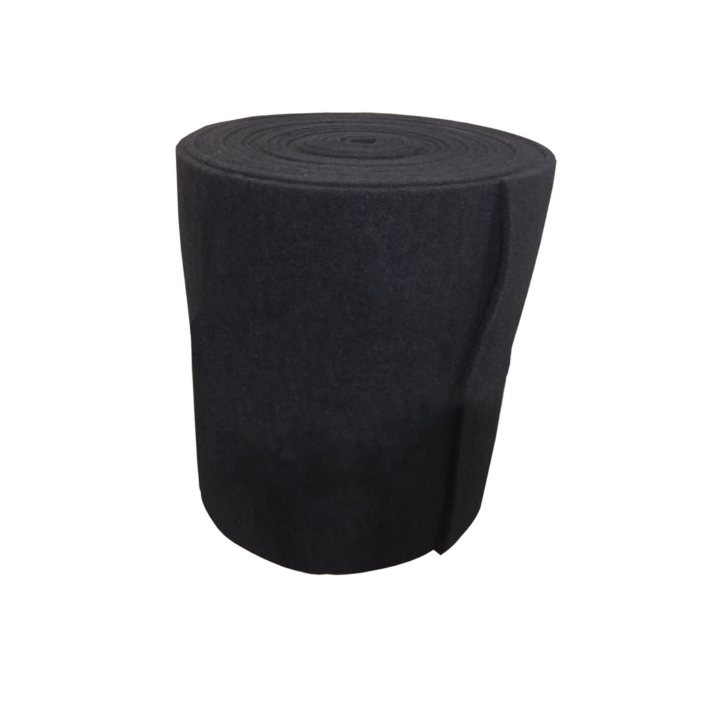 "1"" Coarse Black Bulk Filter Mat"