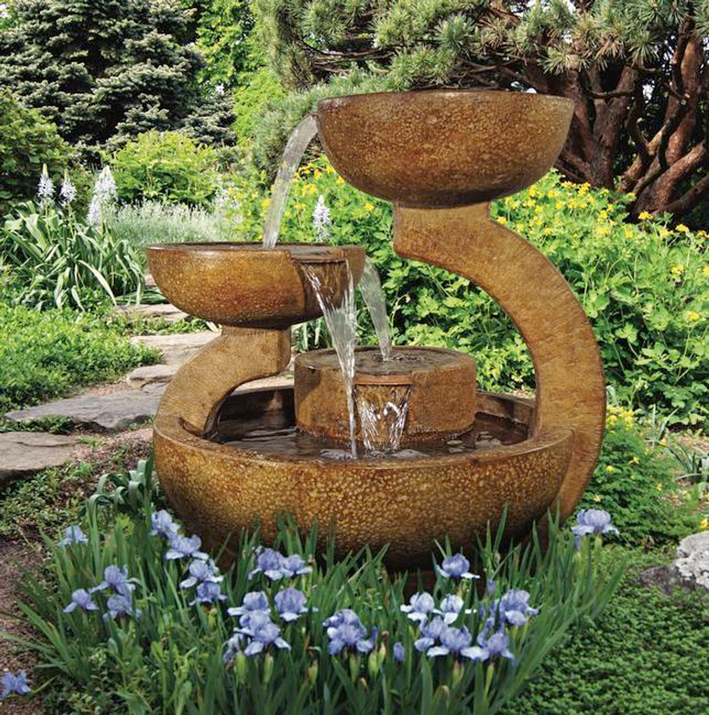 Zen Three-bowl Fountain