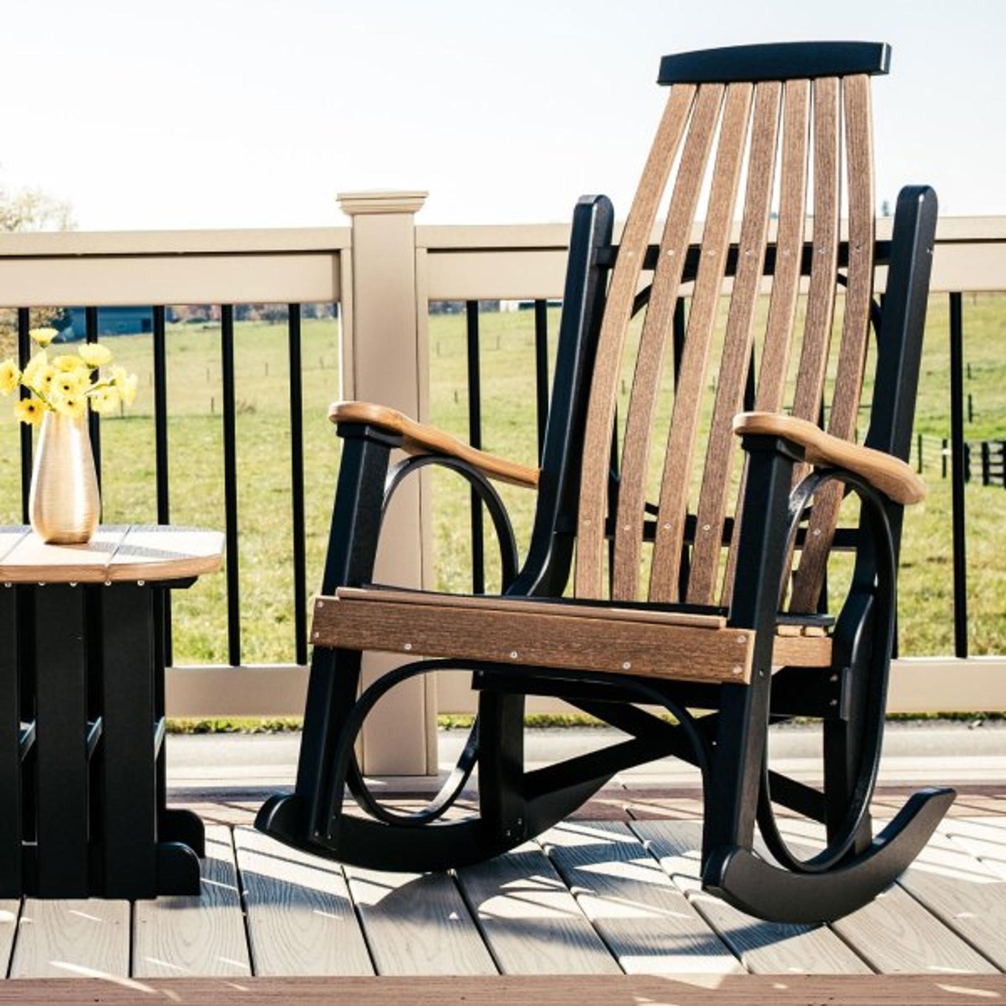grandpa rocker | luxcraft outdoor furniture