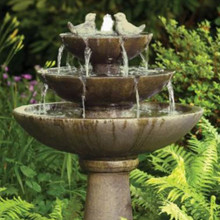 "44"" Tranquility Spill Fountain With Birds (3700)"