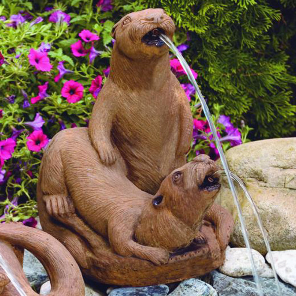 Otter Couple Spitter