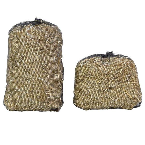 Barley straw bales for ponds