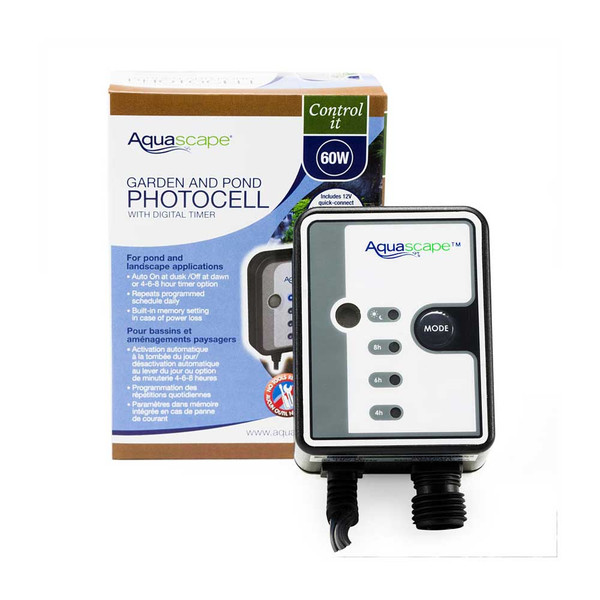 Garden and pond photocell