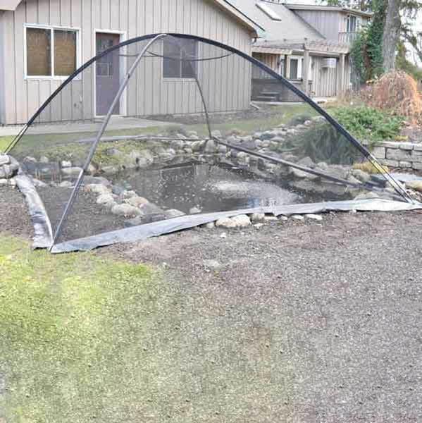 Deluxe Pond Cover Tent - Pond