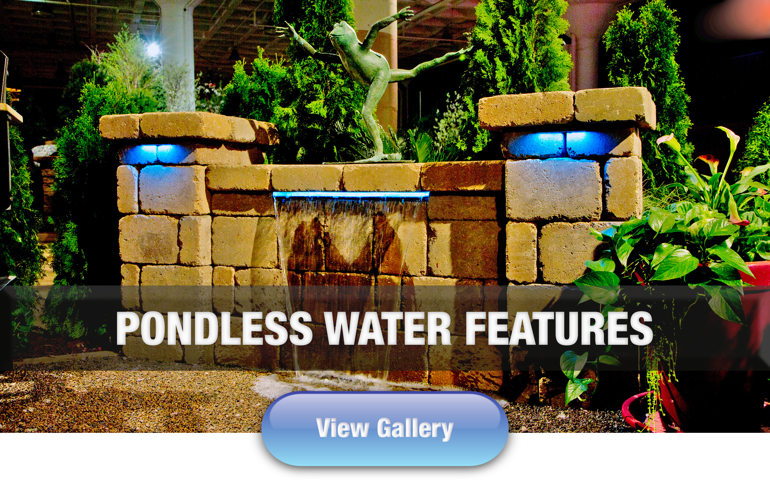 Hoffman's Water X Scapes Pondless Water Feature Work