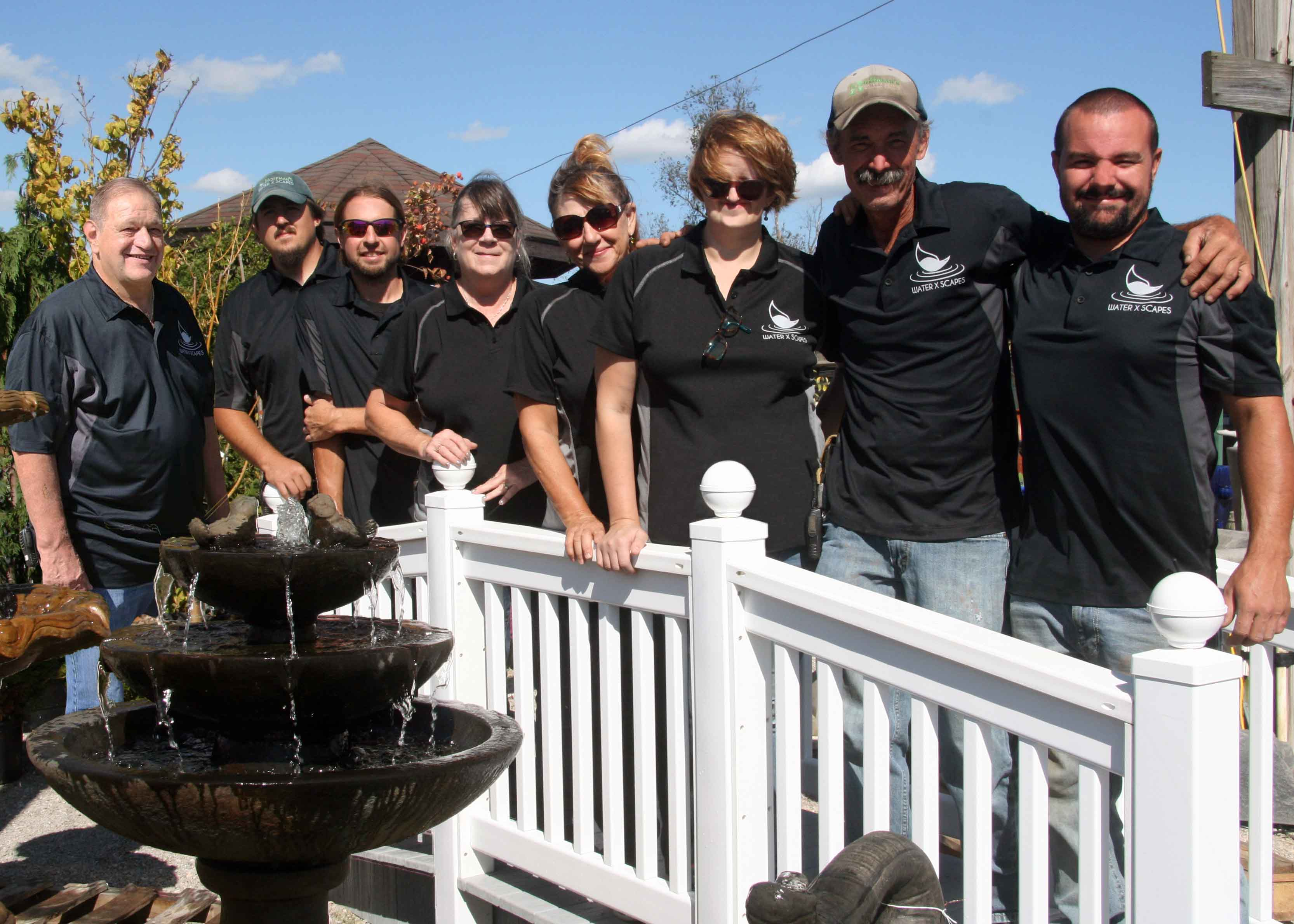 Pond Experts at Hoffman's Water X Scapes