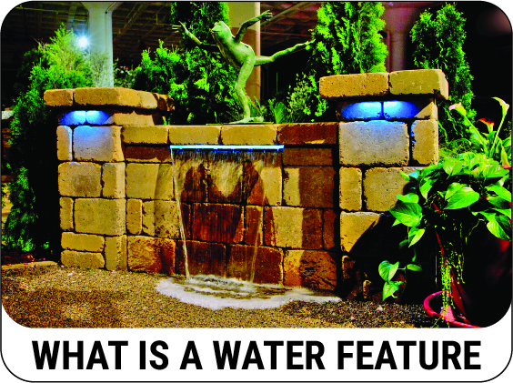 Learn what a pondless water feature is - CLICK HERE!