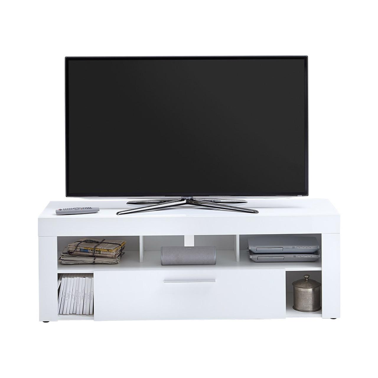 Tesoro White TV UNIT