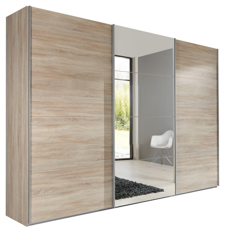 Tesoro Oak 3 Door Sliding Wardrobe