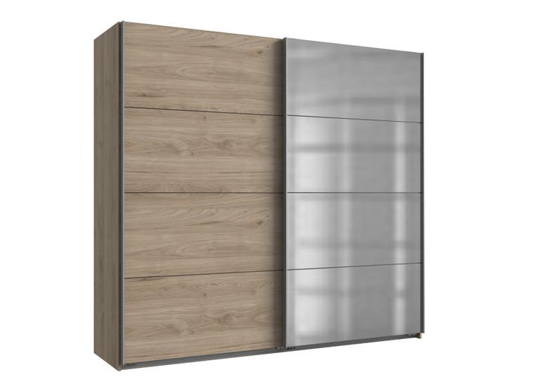 Tesoro Hickory Oak 2 Door Sliding Wardrobe