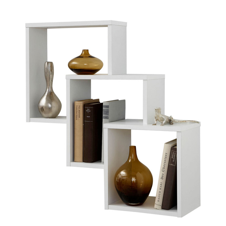 Tesoro Fibi  White Wall Mounted Shelf
