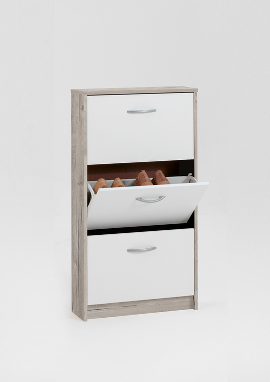 Tesoro 3 Sand Oak  Shoe Cabinet