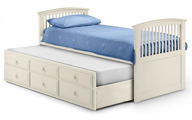 Hornblower White stone Bed