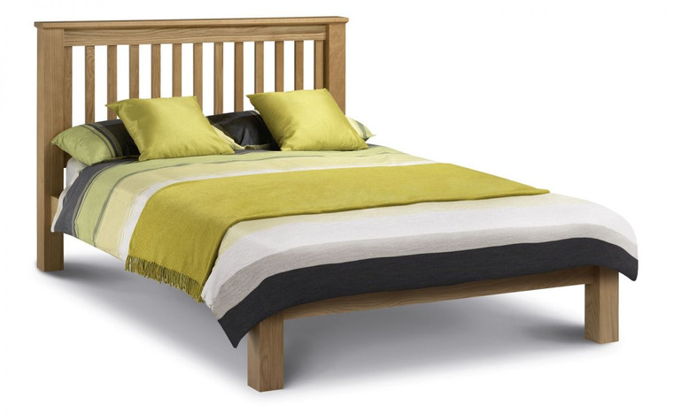 Amsterdam Oak Bed - Low Foot End