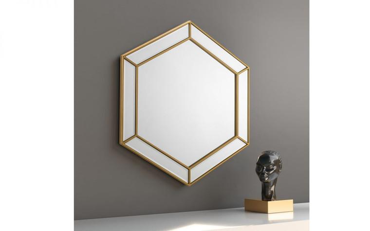Melody Hexagonal Mirror